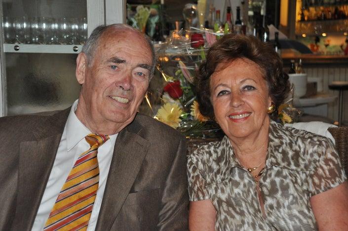 Mr. & Mrs. Gunther Schlink