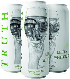 Truth Little White Lie Sparkling White Wine